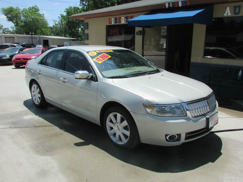 2007 LINCOLN MKZ BASE 4DR SEDAN gray very nice car heated and cooled seats abs - 4-wheel airba