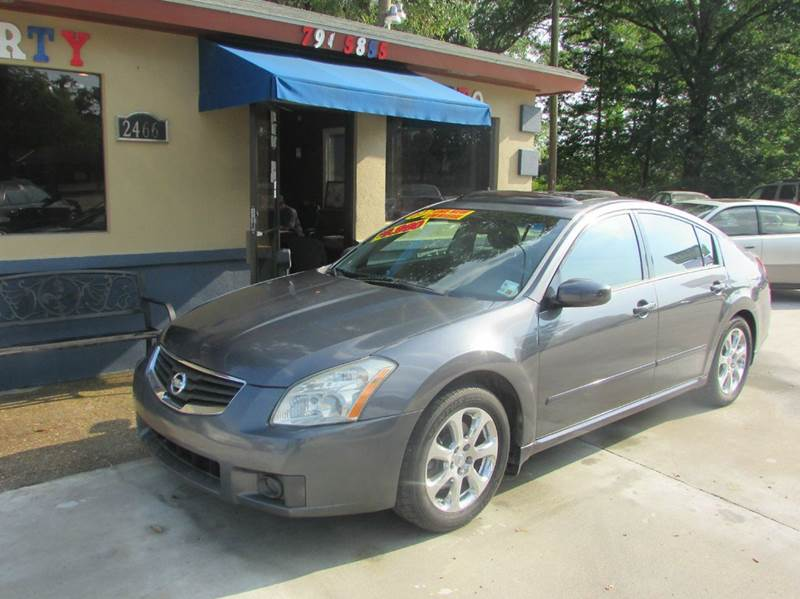 2007 NISSAN MAXIMA 35 SL 4DR SEDAN grey this nissan maxima is a one owner car that is in absolute