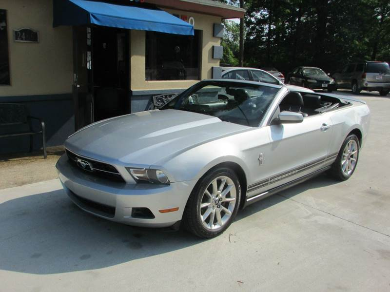 2010 FORD MUSTANG V6 PREMIUM 2DR CONVERTIBLE silver fun in the sun abs - 4-wheel airbag deact