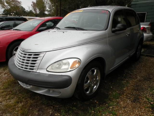 2001 CHRYSLER PT CRUISER BASE 4DR WAGON silver 4-speed automatic transmission 4-wheel abs alloy