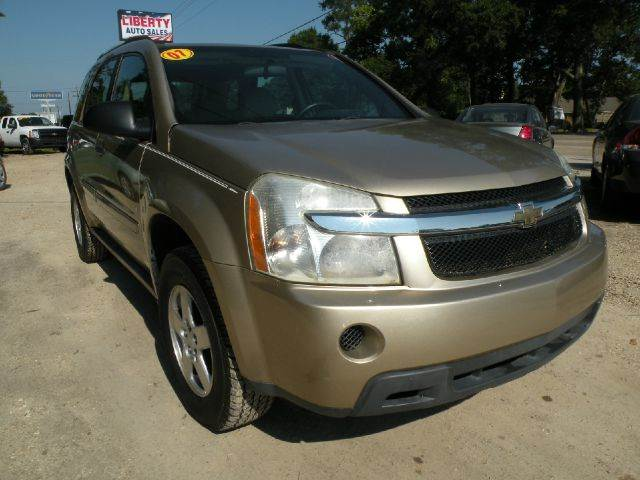 2007 CHEVROLET EQUINOX LS 4DR SUV gold safe clean reliable comfy roomy and affordable  this