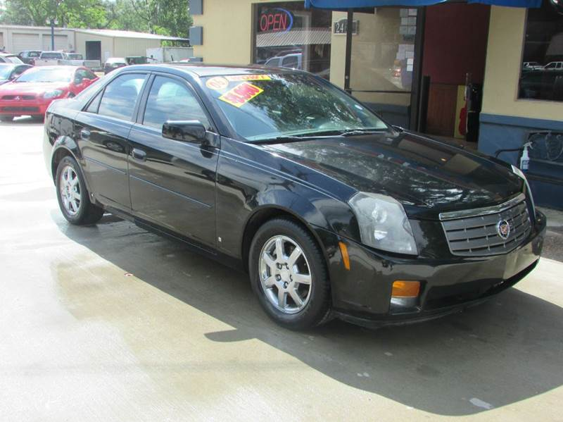 2006 CADILLAC CTS BASE 4DR SEDAN W28L black cadillac the king of luxury  come take a look at