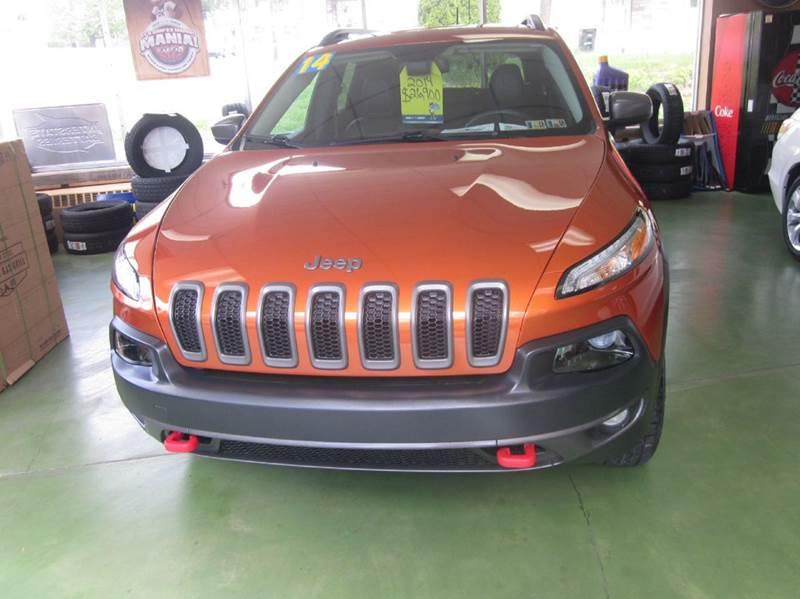 2014 Jeep Cherokee 4x4 Trailhawk 4dr SUV - Whitehall PA
