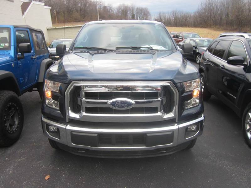 2016 Ford F-150 4x4 XLT 4dr SuperCrew 5.5 ft. SB - Whitehall PA