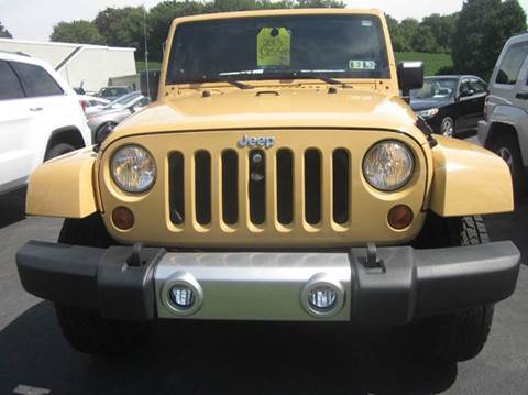 2013 Jeep Wrangler for sale in Whitehall, PA