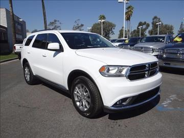 2017 Dodge Durango for sale in Anaheim, CA