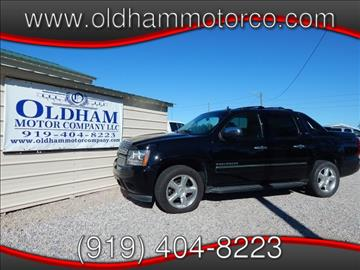 2011 Chevrolet Avalanche for sale in Zebulon, NC