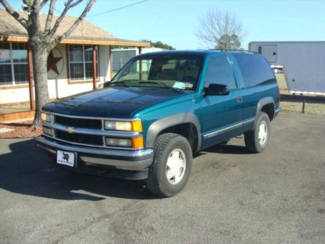 1997 Chevrolet Tahoe For Sale In Corsicana Tx