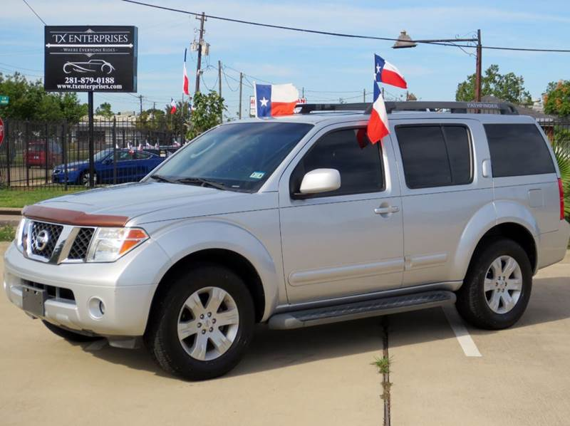 2007 nissan pathfinder le 4dr suv in houston tx tx. Black Bedroom Furniture Sets. Home Design Ideas