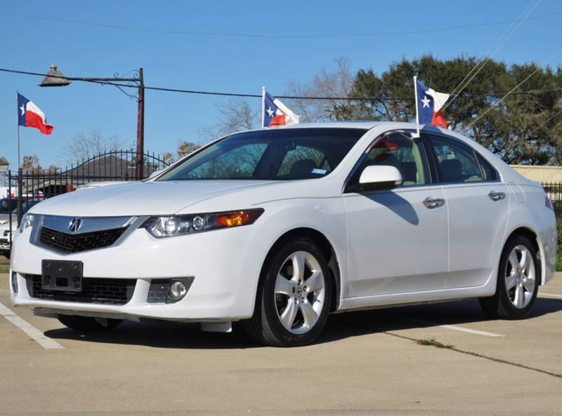 2009 acura tsx base w tech 4dr sedan 5a w technology package in houston tx tx enterprises. Black Bedroom Furniture Sets. Home Design Ideas