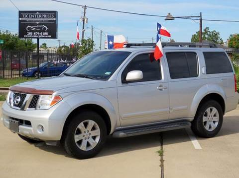 2007 nissan pathfinder for sale houston tx. Black Bedroom Furniture Sets. Home Design Ideas