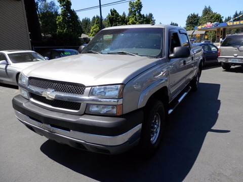 2003 Chevrolet Silverado 2500HD for sale in Milwaukie, OR