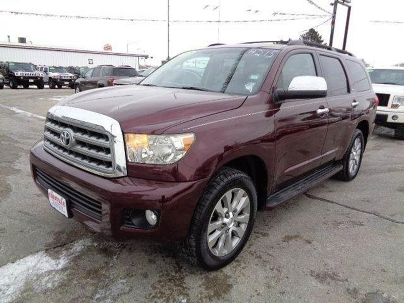 2008 Toyota Sequoia 4x4 Limited 4dr Suv In South Sioux City Ne De