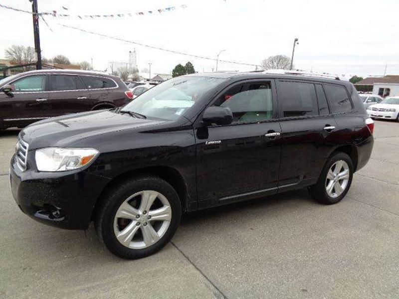 2010 toyota highlander limited awd 4dr suv in south sioux city ne de anda auto sales. Black Bedroom Furniture Sets. Home Design Ideas