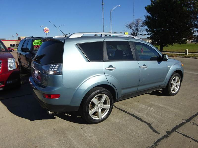 2007 mitsubishi outlander xls awd 4dr suv in south sioux. Black Bedroom Furniture Sets. Home Design Ideas