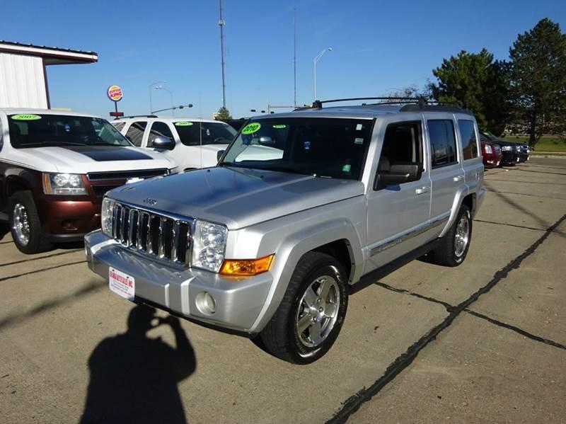 2010 jeep commander sport 4x2 4dr suv in south sioux city ne de anda auto sales. Black Bedroom Furniture Sets. Home Design Ideas