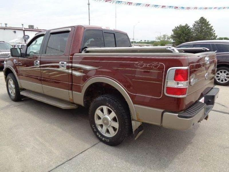 2005 ford f 150 king ranch 4dr supercrew 4wd styleside 5 5 ft sb in south sioux city ne de. Black Bedroom Furniture Sets. Home Design Ideas