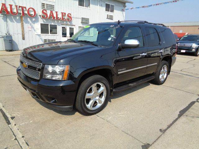 2012 Chevrolet Tahoe LTZ 4x4 4dr SUV In South Sioux City ...
