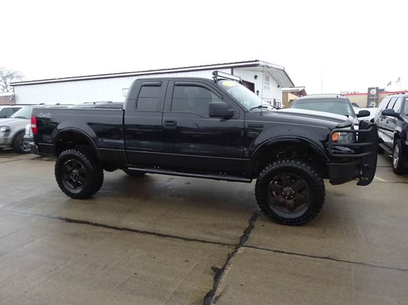 2008 Ford F-150 Lariat 4x4 4dr SuperCab Styleside 6.5 ft ...