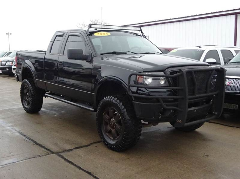 2008 Ford F 150 Lariat 4x4 4dr Supercab Styleside 6 5 Ft