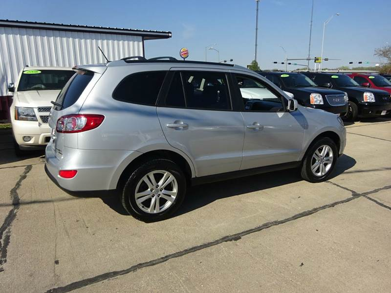 2010 hyundai santa fe se awd 4dr suv in south sioux city ne de anda auto sales. Black Bedroom Furniture Sets. Home Design Ideas