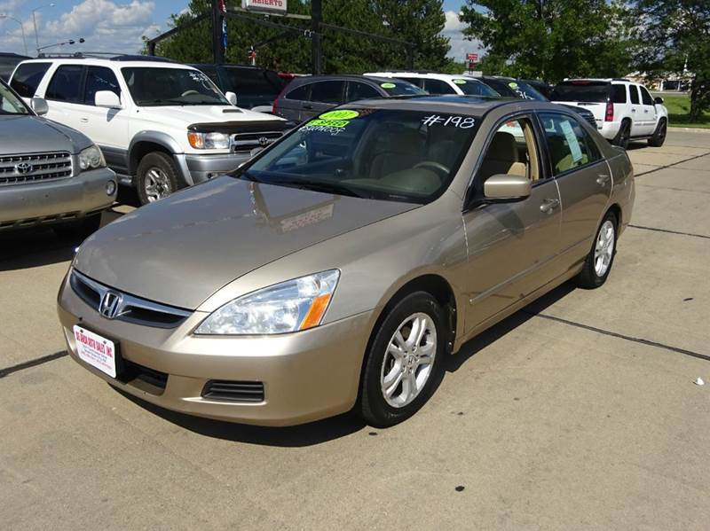 honda accord for sale in south sioux city ne. Black Bedroom Furniture Sets. Home Design Ideas