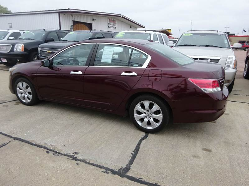 2008 honda accord ex l v6 4dr sedan 5a in south sioux city. Black Bedroom Furniture Sets. Home Design Ideas
