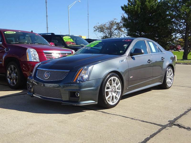 2009 cadillac cts v base 4dr sedan w 1sv in south sioux. Black Bedroom Furniture Sets. Home Design Ideas