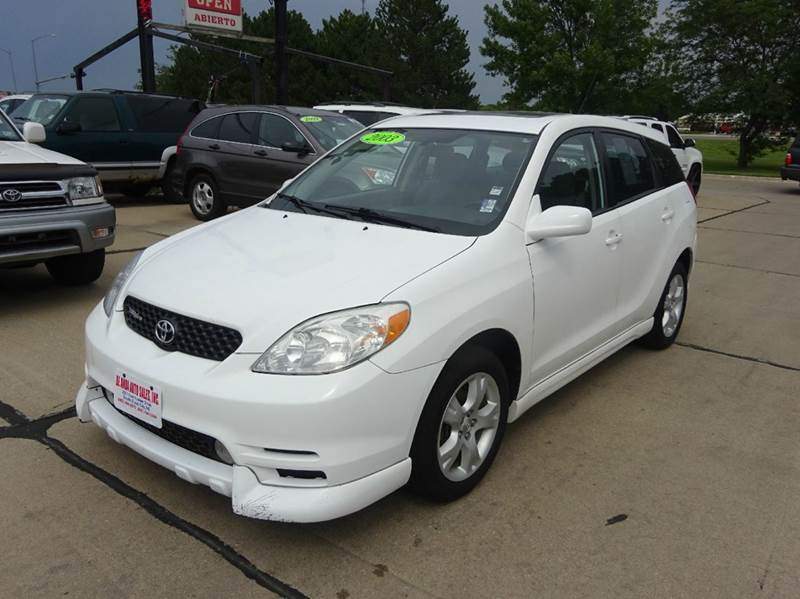 2003 toyota matrix xr awd 4dr wagon in south sioux city ne. Black Bedroom Furniture Sets. Home Design Ideas