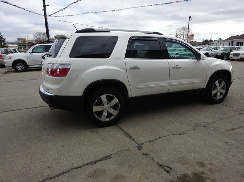 2011 gmc acadia slt 2 awd 4dr suv in south sioux city ne de anda auto sales. Black Bedroom Furniture Sets. Home Design Ideas