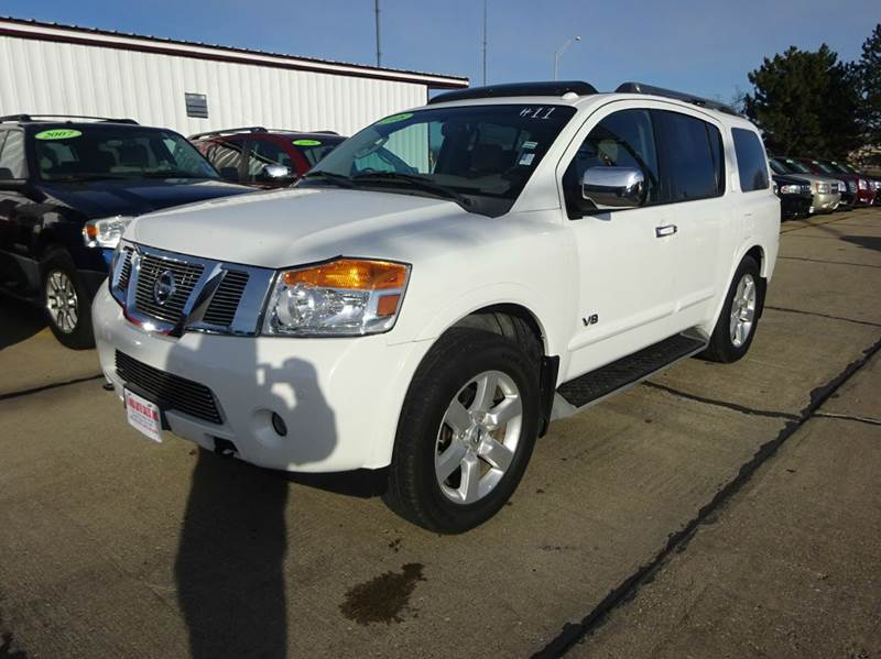 2008 nissan armada le ffv 4x4 4dr suv in south sioux city. Black Bedroom Furniture Sets. Home Design Ideas