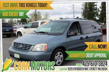 Ford freestar for sale for Corn motors everett wa