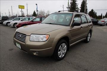 2008 Subaru Forester for sale in Everett, WA