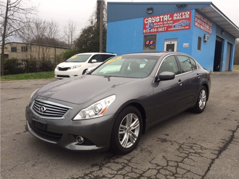 2012 Infiniti G25 Sedan for sale in Nashville, TN