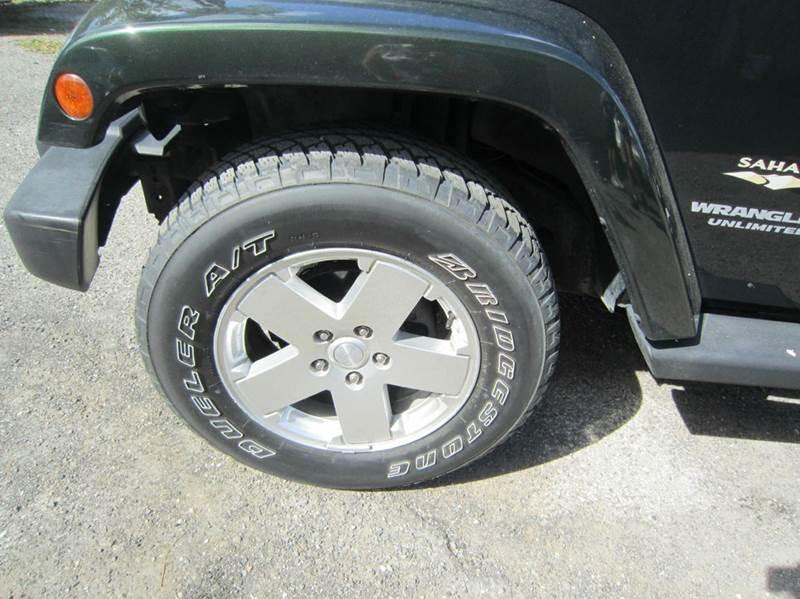 2011 Jeep Wrangler Unlimited Sahara 4x4 4dr SUV - Longwood FL