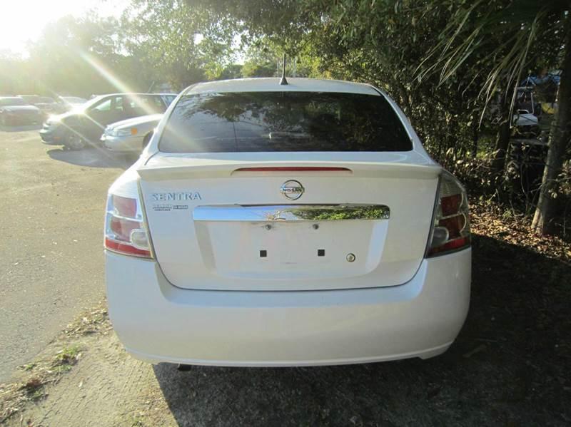 2012 Nissan Sentra 2.0 S 4dr Sedan - Longwood FL