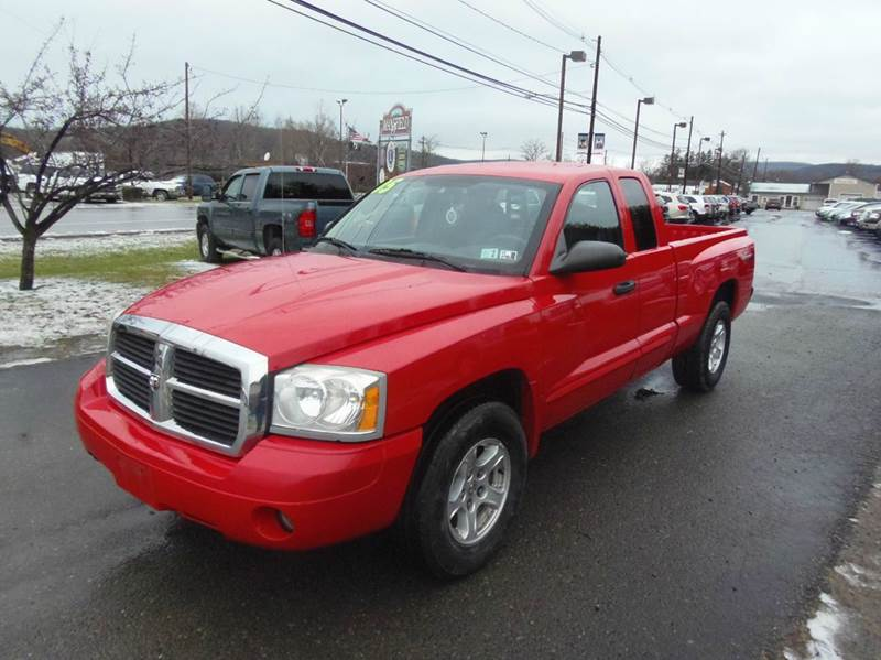 2005 Dodge Dakota Slt 4wd 4dr Club Cab Sb In Mansfield Pa
