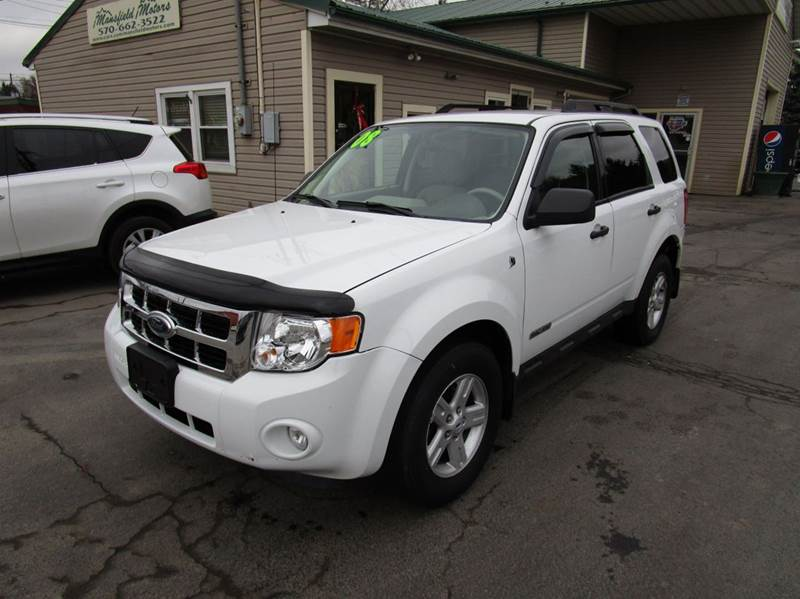 2008 ford escape hybrid base awd 4dr suv in mansfield pa
