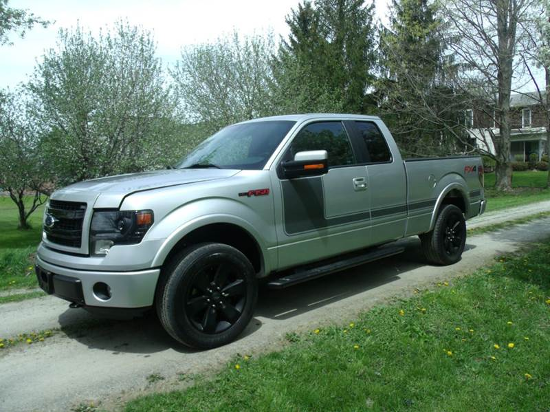 2013 Ford F 150 4x4 Fx4 4dr Supercab Styleside 6 5 Ft Sb