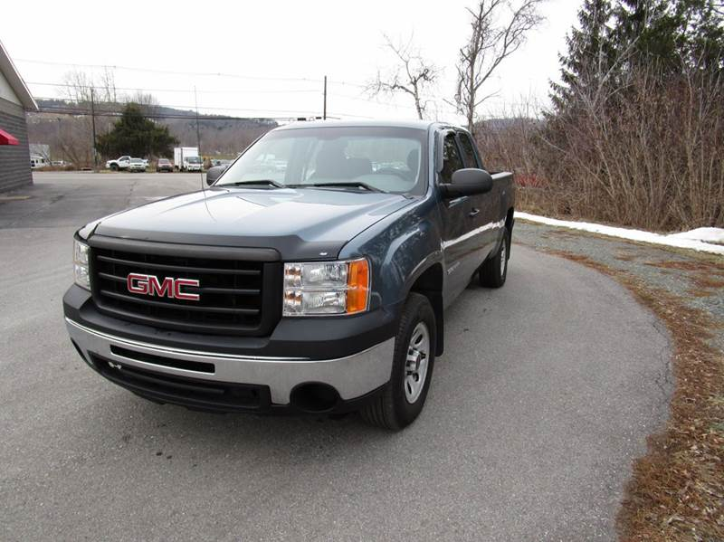 2011 gmc sierra 1500 4x4 work truck 4dr extended cab 6 5 ft sb in mansfield pa mansfield motors. Black Bedroom Furniture Sets. Home Design Ideas