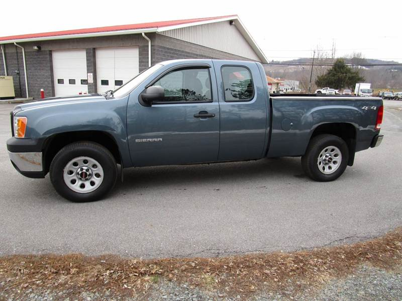 2011 Gmc Sierra 1500 4x4 Work Truck 4dr Extended Cab 6 5