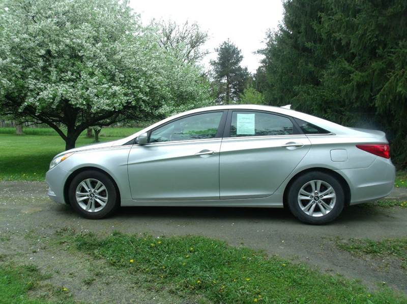 2013 hyundai sonata gls 4dr sedan pzev in mansfield pa mansfield motors. Black Bedroom Furniture Sets. Home Design Ideas
