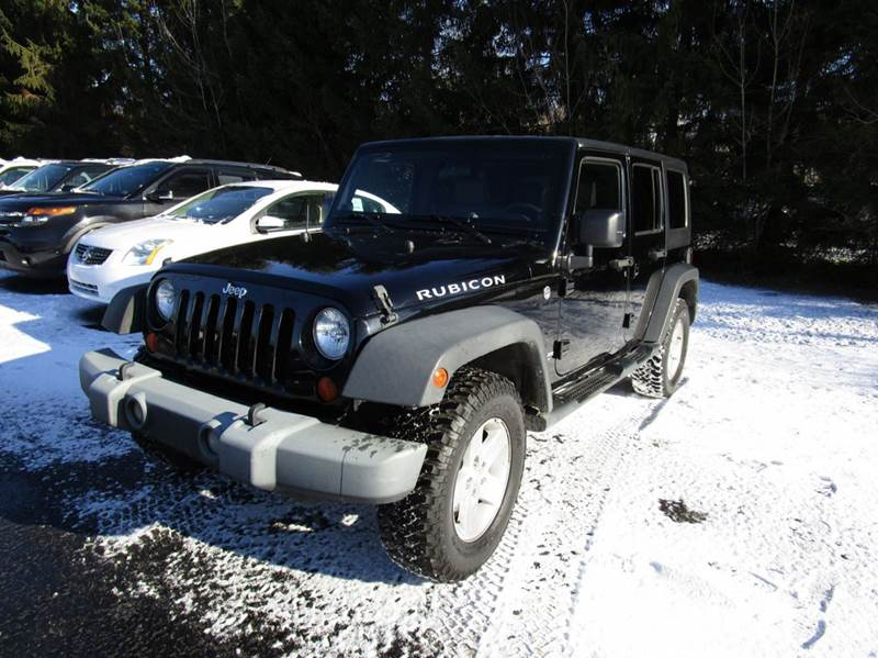 2008 Jeep Wrangler Unlimited 4x4 Rubicon 4dr Suv In