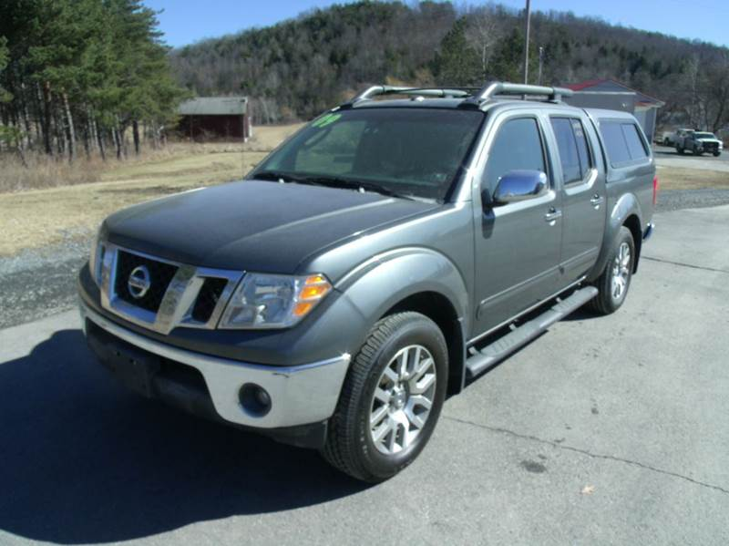 2009 nissan frontier le 4x4 crew cab short bed 4dr 5a in mansfield pa mansfield motors. Black Bedroom Furniture Sets. Home Design Ideas
