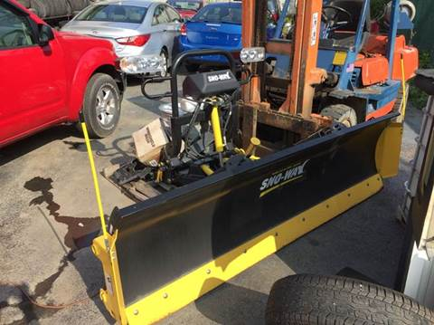 2011 Sno Way  Mega Blade for sale in Mansfield, PA