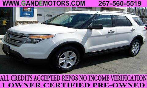 2011 Ford Explorer for sale in Langhorne, PA
