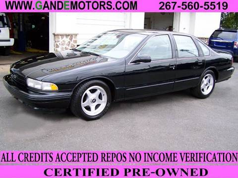 1996 Chevrolet Impala for sale in Langhorne, PA