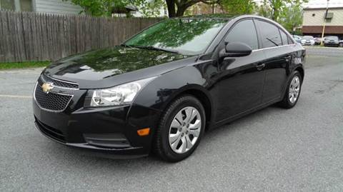2012 Chevrolet Cruze for sale in Allentown, PA