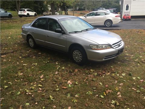 2002 Honda Accord for sale in Wilmington, MA