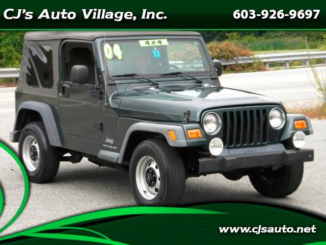2004 Jeep Wrangler for sale in Hampton Falls NH